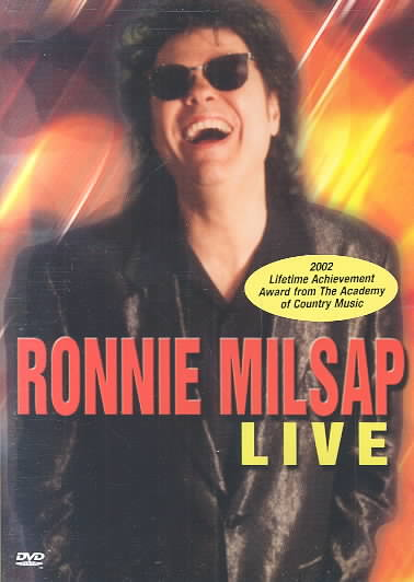 LIVE BY MILSAP,RONNIE (DVD)
