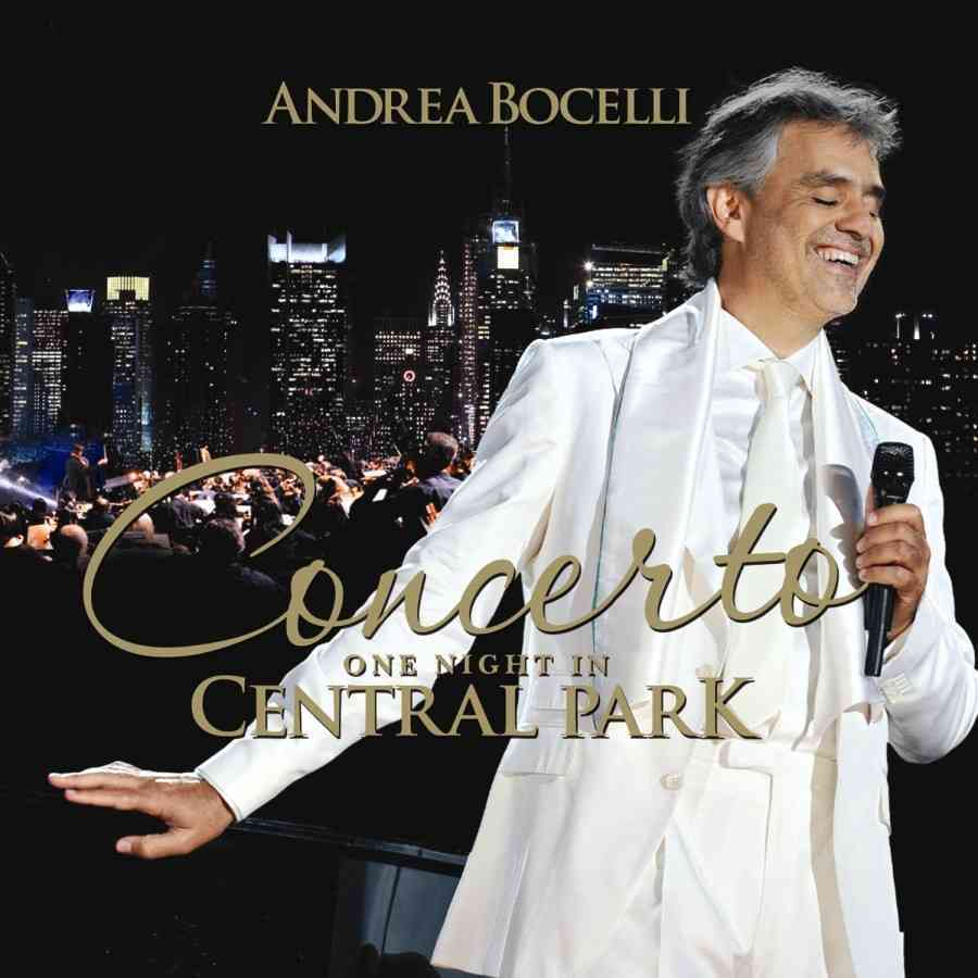 CONCERTO:ONE NIGHT IN CENTRAL PARK BY BOCELLI,ANDREA (CD)